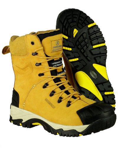 Amblers Safety , Chaussures de sécurité pour homme Beige Miel