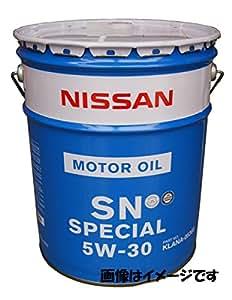 日産純正 SNスペシャル 5W-30 部分合成油 ガソリン車用エンジンオイル 20L