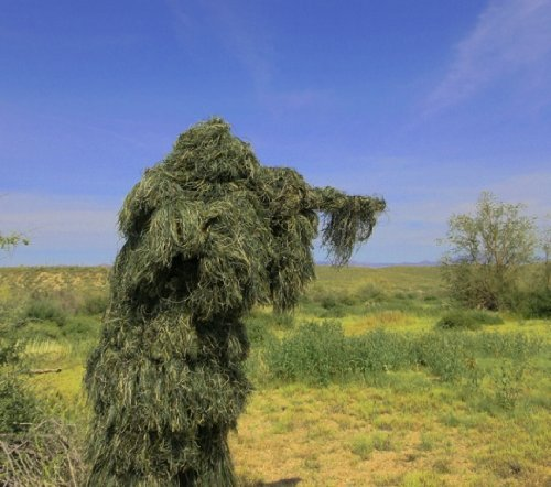 Ghost Ghillie Suit Woodland