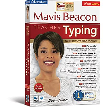 Mavis Beacon Teaches Typing - 2011 Ultimate Mac Edition Family Pack