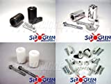 Shogun No Cut Frame Sliders - Yamaha FZ6R - Fits Years: 2009 to 2011 - White Fits Years 2009 to 2011