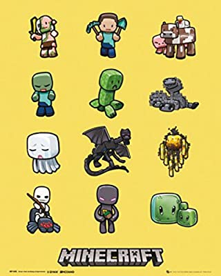 Posters: Minecraft Mini Poster - Characters (20 x 16 inches)