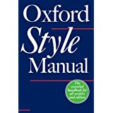 The Oxford Style ManualR. M. Ritter�ɂ��
