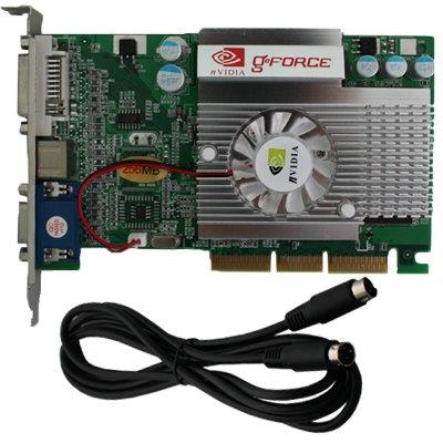 nVIDIA GeForce FX 5500 256 MB 256MB AGP 4X 8X Video Card Vga Adapter