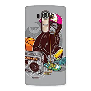 Gorgeous Monkey Music Back Case Cover for LG G4