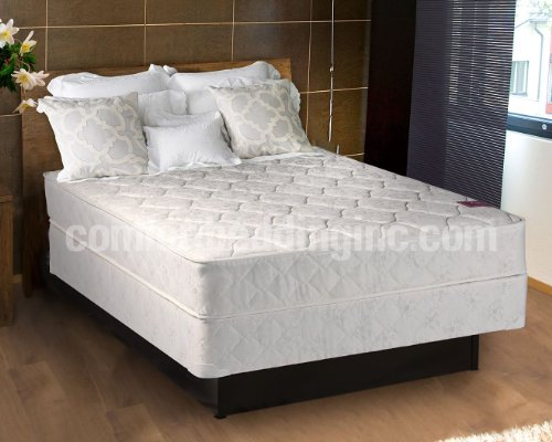 American Legacy Innerspring (Inner Spring) Queen Size Mattress and Box Spring Set