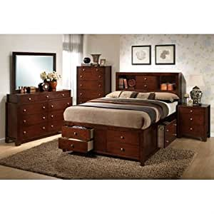 weber bedroom set with storage bed by yt furniture