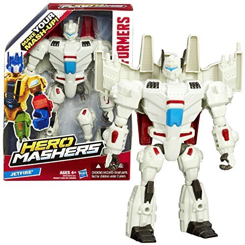 Hasbro Year 2014 Transformers Hero Mashers Series 6 Inch Tall Action Figure - Autobot JETFIRE with Detachable Hands and Legs by Hasbro