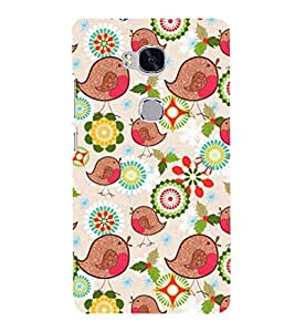 EPICCASE indigenous tango Mobile Back Case Cover For Huawei Honor 5X (Designer Case)