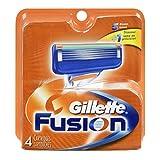 Gillette Gillette Fusion Cartridges, 4 each