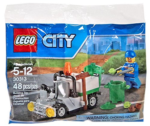 LEGO City Garbage Truck Mini Set #30313 [Bagged] - 1