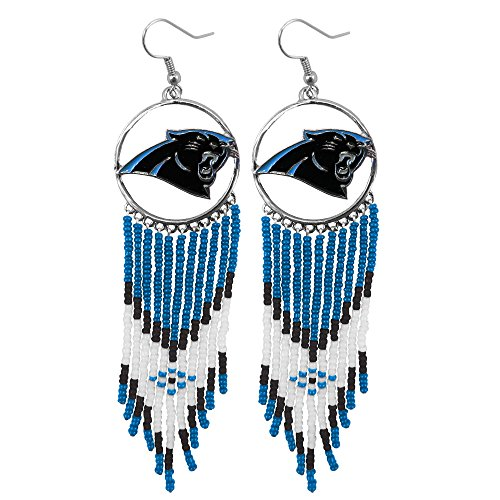 NFL Carolina Panthers Dreamcatcher Earring