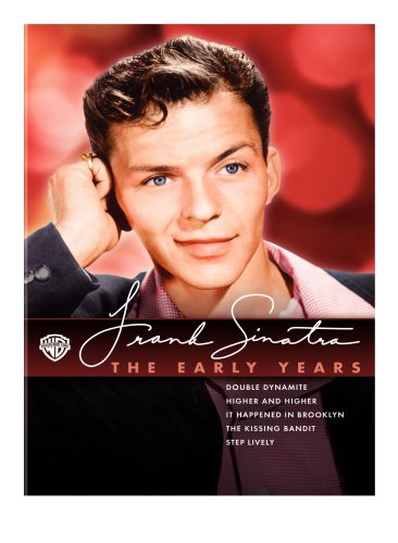 Cover art for  Frank Sinatra - The Early Years Collection (It Happened in Brooklyn / Step Lively / The Kissing Bandit / Double Dynamite / Higher and Higher)