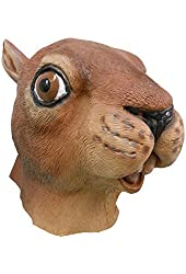 niceEshop(TM) Crazy Latex Rubber Creepy Horse Head Mask Party Halloween Decorations