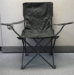 Fold up lawn chair with store carry bag cup for Fold up garden chairs