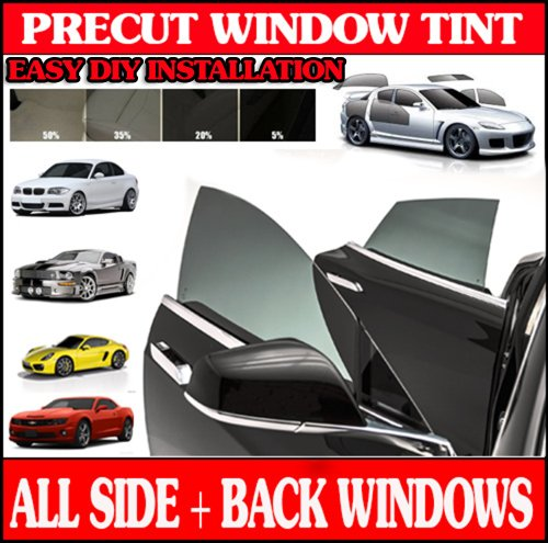 Precut Window Tint Kit For Jeep Wrangler 2 Door 2011 2012 2013 2014 (Suntek Window Tint compare prices)