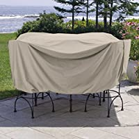 Brookstone Weather Wrap Round Table & Chairs Cover (86