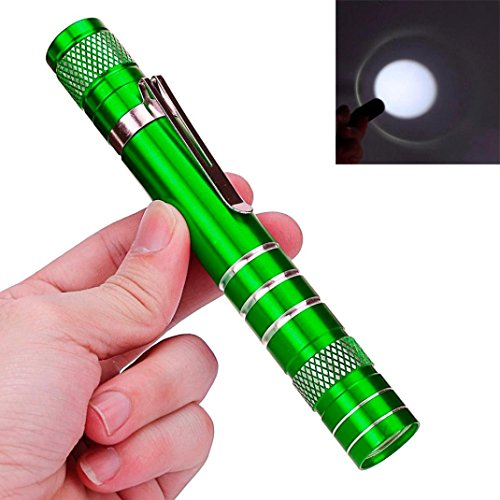 Flashlight,Baomabao Mini 1200LM High Power Torch Cree Q5 LED Tactical Flashlight AA Lamp Light_Green