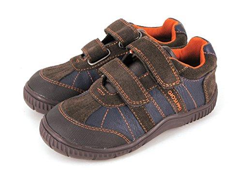 Gioseppo - Obi, Sneakers per bambini e ragazzi, multicolore (marron/marino), 31