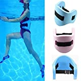 Idealplast Swim Floating Belt Learn To Swim Children Adult Safety Swimming Leaning Training Float EVA Belt Waistband (blue)