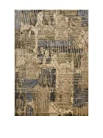 Homemania Alfombra Galata Beige/Multicolor 80 x 150 cm