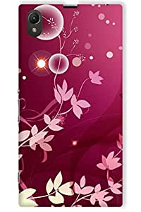 IndiaRangDe Case For Sony Xperia Z1 (Printed Back Cover)