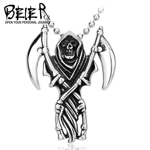 Pendant Men Punk Motorcycle Pendant Stainless Steel Fashion