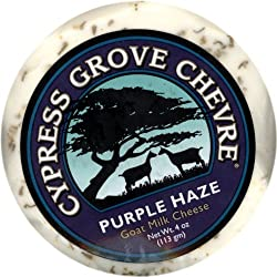 Purple Haze Goat Cheese - Cypress Grove - 5 oz
