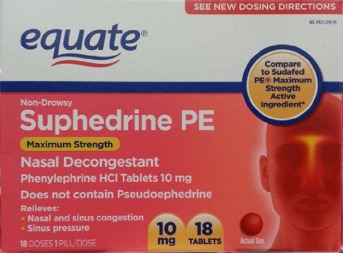 equate-suphedrine-pe-nasal-decongestant-10mg-18ct-maximum-strength-compare-to-sudafed-pe-maximum-str