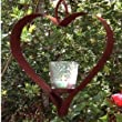 Shaker heart votive