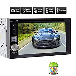 See New Sale Android 4.2 Double Din Car Video 6.2 inch Capacitive HD Multi-touch Screen Car DVD Player Stereo In Dash GPS Navi Navigation Support Wifi/Bluetooth/ SD/USB/AM/FM Radio Headunit Details