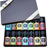 100% Pure & Natural Therapeutic Grade Essential Oil- 7) Synergy Blends and 7) Top Oils= 14/ 10 ml (Eucalyptus, Cinnamon Bark, Lemon, Lavender, Peppermint, Sweet Orange, Rosemary, Meditation, Renew, Aphrodisiac, Stress Relief, Relaxation, Breathe Easy and Sensation)