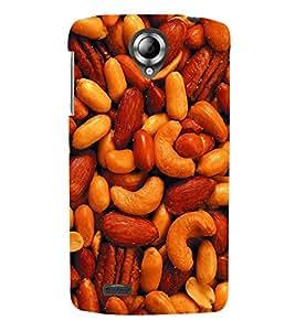 TOUCHNER (TN) Dry Fruits Back Case Cover for Lenovo S820