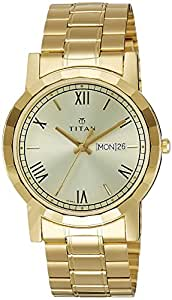buy titan gold analogue for 1644ym03