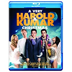 A Very Harold & Kumar Christmas (Movie-Only Edition + UltraViolet Digital Copy) [Blu-ray]