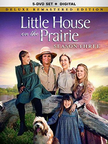 Little House on the Prairie Season 3 [Deluxe Remastered Edition - DVD + Digital]