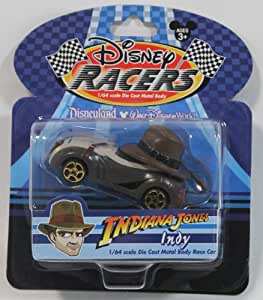 """Disney Racers Indiana Jones """"Indy"""" Car Racer- Disney Theme Park Exclusive & Limited Availability [Toy]"""