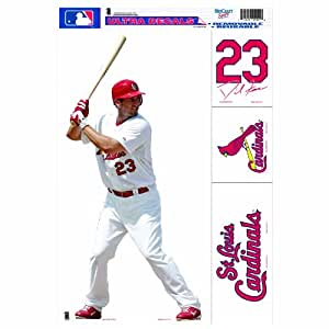 mlb st louis cardinals david freese 11 by 17. Black Bedroom Furniture Sets. Home Design Ideas
