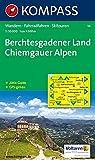 Berchtesgadener Land - Chiemgauer Alpen: Wanderkarte mit Aktiv Guide, Radwegen und Skitouren. GPS-genau. 1:50000 (KOMPASS-Wanderkarten)