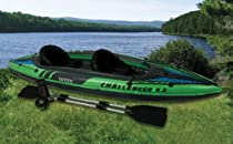 INTEX 2 Person Challenger K2 Inflatable Kayak+Pump