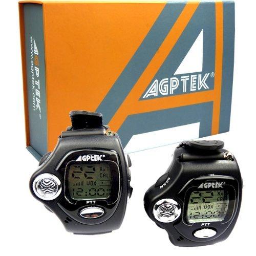 AGPtek Agptek Two-Way Fashionable Wrist-Operated Wristwatch Walkie Talkie Wrist Watch