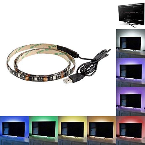 SUPERNIGHT USB RGB LED Light Strip 5050