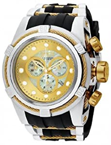 Mens Watch Invicta 828 Reserve Reserve Bolt Zeus Chronograph Stainless Steel Cas