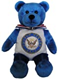 "United States Navy 9"" Military Bear"