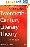 Twentieth-Century Literary Theory: A Reader
