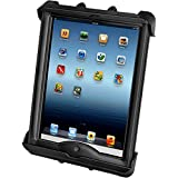 Ram Mount Tab-Tite Universal Clamping Cradle with LifeProof and Lifedge Cases for Apple iPad (RAMHOLTAB17U)