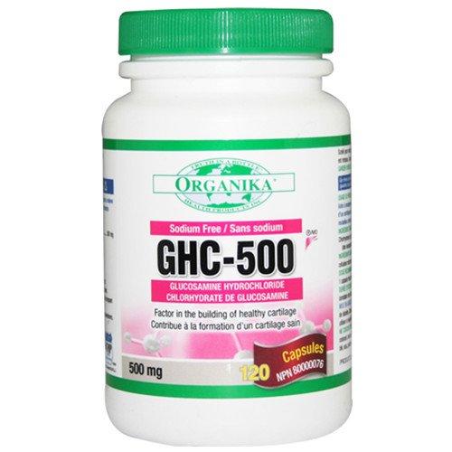 Organika Glucosamine Hydrochloride 500 (Ghc) 500Mg, 120 Capsules