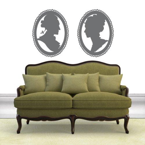 Ritratti- Adesivi Murali - Wall Stickers per la decorazione della casa e delle camerette