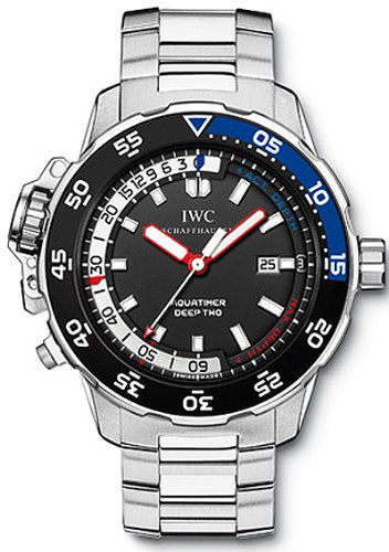 IWC AQUATIMER DEEP TWO MENS WATCH IW354701