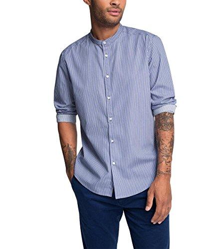 ESPRIT 076EE2F002, Camicia Uomo, Blu (Blue Lavender), Large (Taglia Produttore: L)